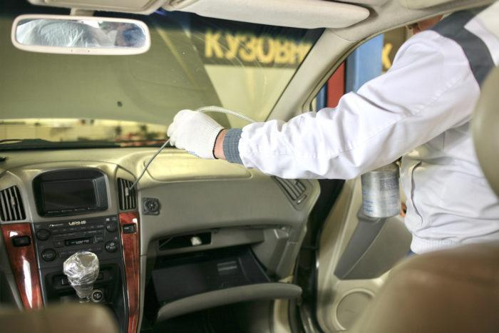 Дезинфицирующие средства для автомобилей