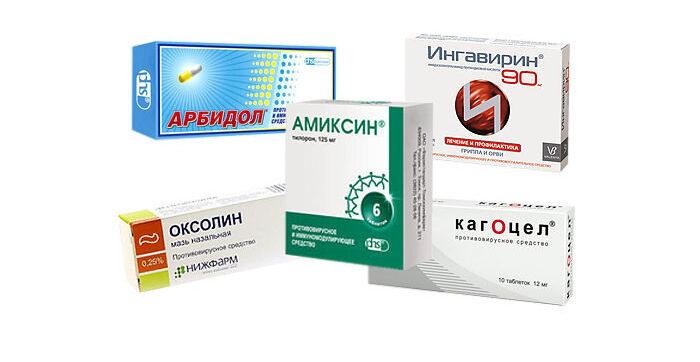 антибактериальные и противовирусные препараты