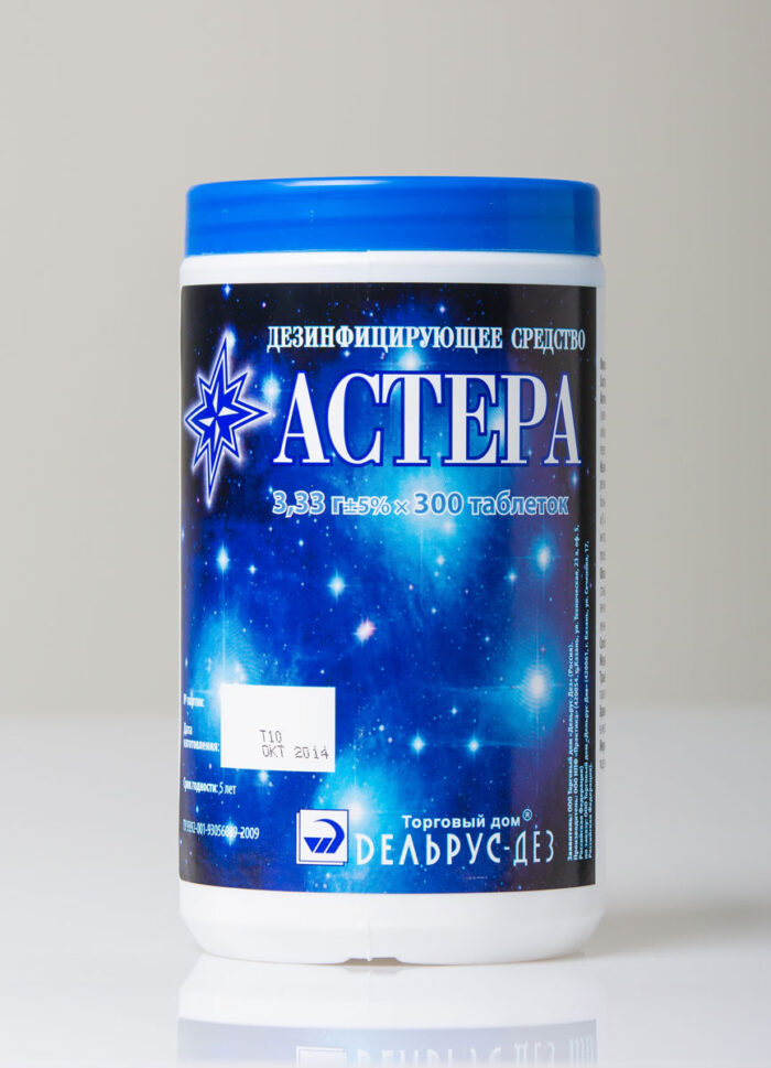 Применение антисептика Астера
