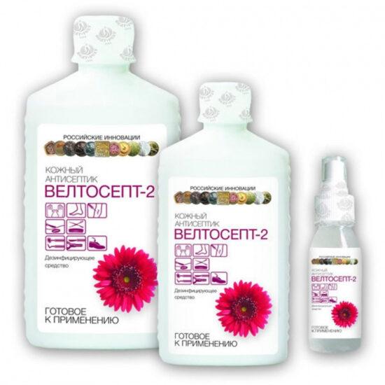 Велтосепт 2 кожный антисептик, форма выпуска, свойства, состав